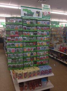 At Dollar Tree, it's all about the Washingtons. Credit Dalia Colón.